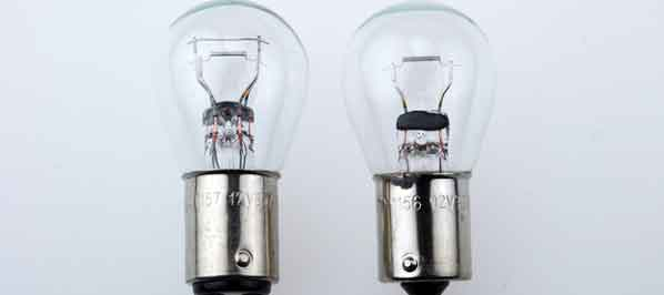 typical 12v lightbulbs used in automobiles