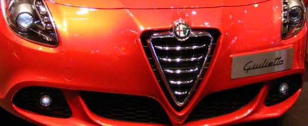 Alfa Romeo Guilietta Grille Red