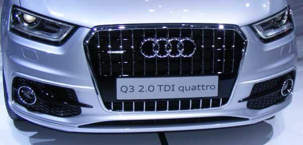 Audi Q3 Grille Grey