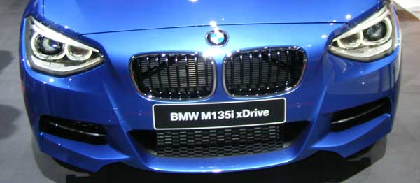 BMW M135i xDrive Grille