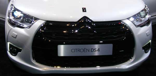 Citroen DS4 Grille