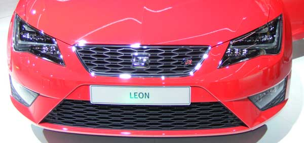 Seat Leon Grille